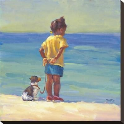 Daddy's Girl Stretched Canvas Print by Lucelle Raad at Art.com