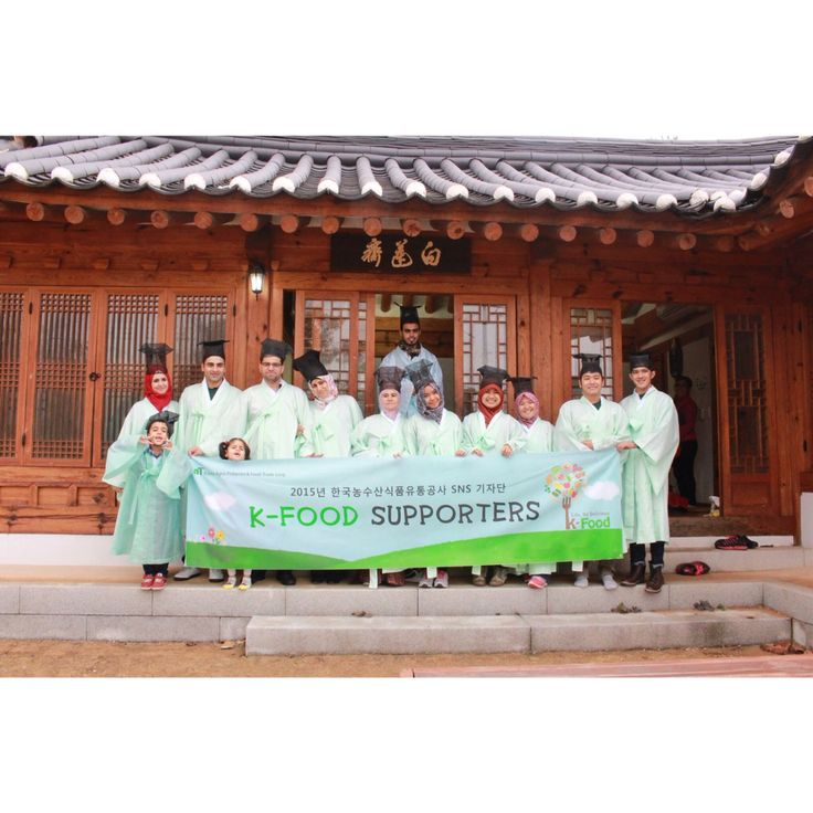 Korean Food Supporter