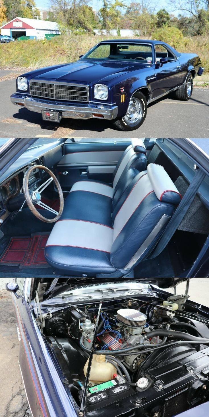 Vintage 1974 Chevrolet El Camino Mild Custom In 2020 Chevrolet El Camino Chevrolet El Camino