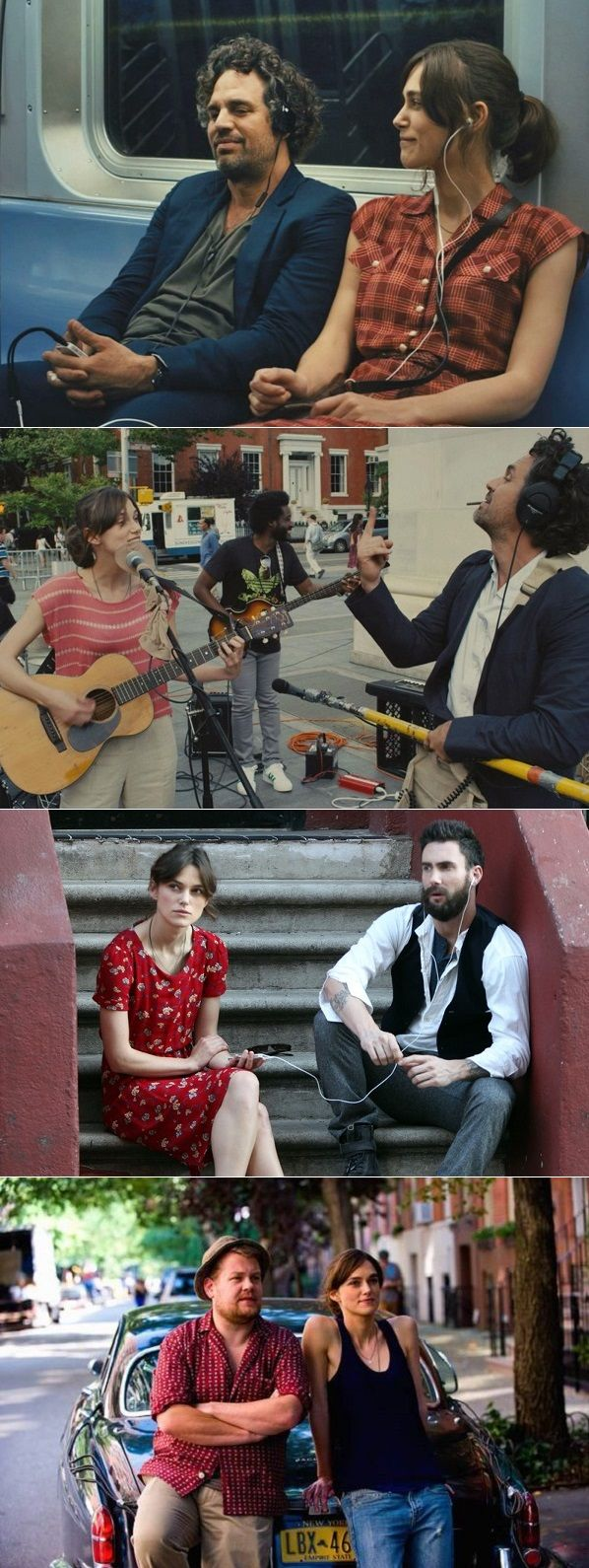 Have you seen the 2013 romantic comedy Begin Again?