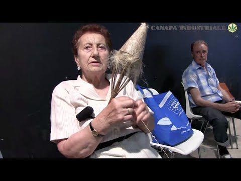 Ecco come si filava e lavorava la canapa in Italia - YouTube