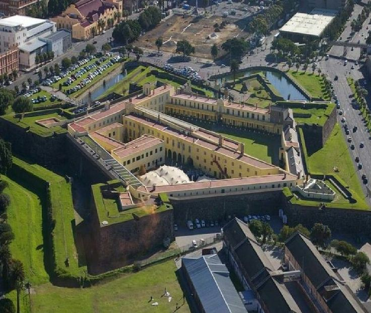 Castle of Good Hope, Cape Town, is the oldest surviving building in South Africa. Built between 1666 and 1679,