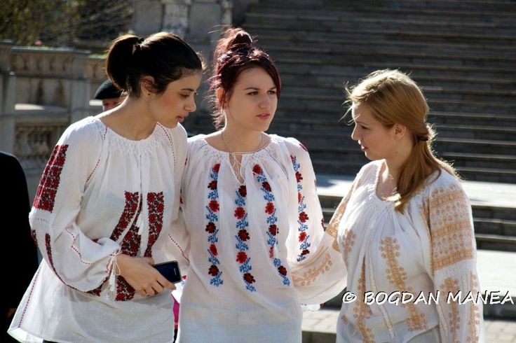 Traditional ancient romanian shirt