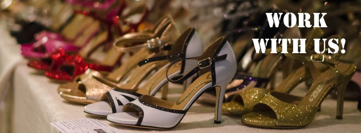 Work with us!  If you believe in the quality of our products, in the care of the service offered to the customers, if you are looking for an opportunity to prove yourself...  write now to: info@italiantangoshoes.com http://www.italiantangoshoes.com/shop/en/content/20-work-with-us