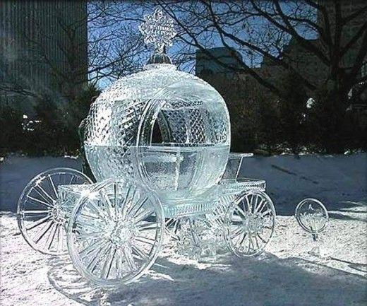 Esculturas de hielo increíbles para eventos con estilo propio