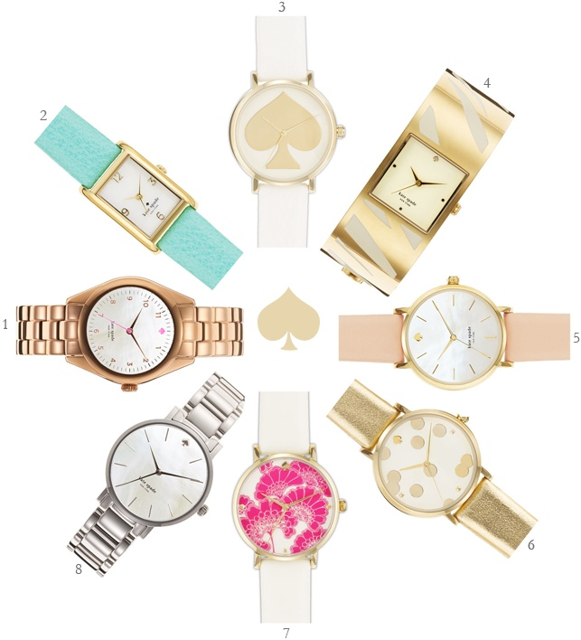 kate spade watch collection :: fabulous k blogPretty Kate, Beautiful Watches, Blog Accessories, Spade Heavens, Watches Heavens, Watches Collection, Fashion Jewelry, Classic Accessories, Kate Spade Watches Silver
