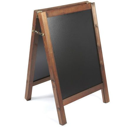 Chalkboard Displays To Write Your Own Messages Or Menus And Change  Frequently When Required. These