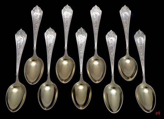 Sterling Silver Flatware Towle Mandarin Teaspoon