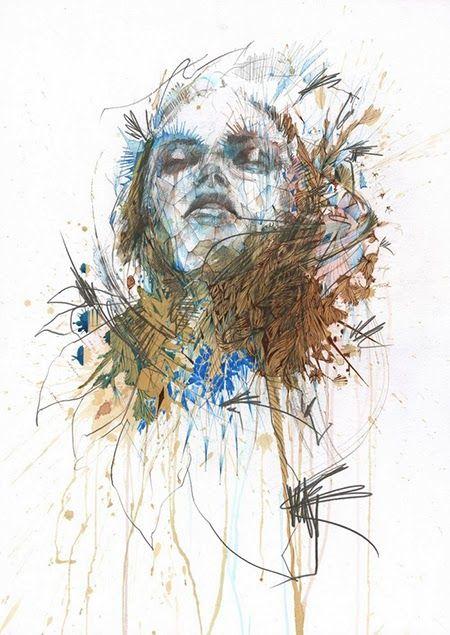 Área Visual: Los dibujos e ilustraciones de Carne Griffiths