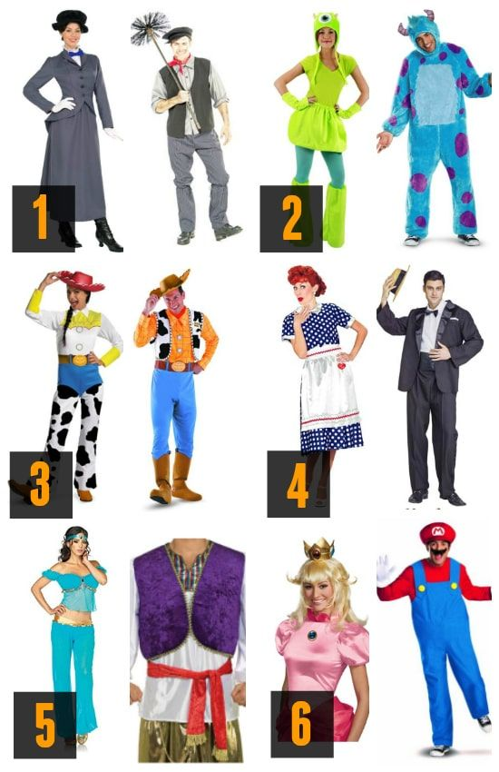 Ultimate Costume Round-Up The Best Couple Costumes Disfraces