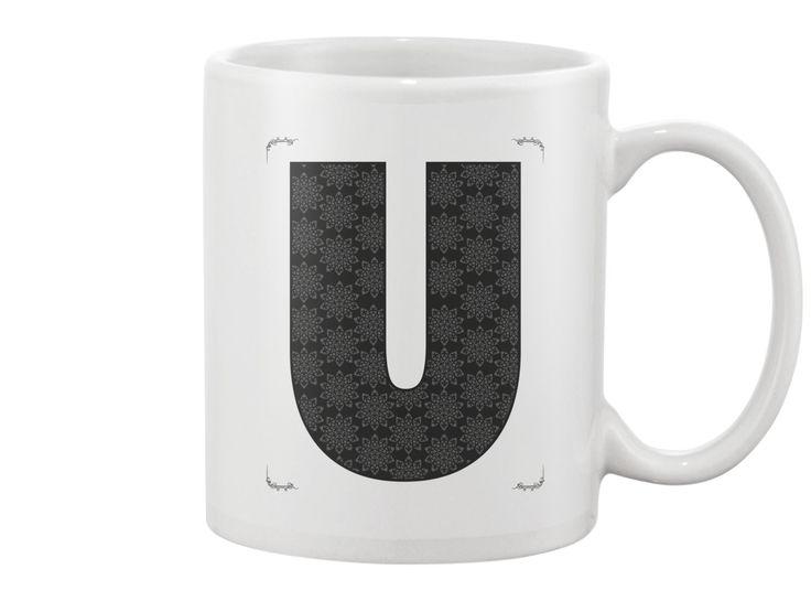 U letter - Mug