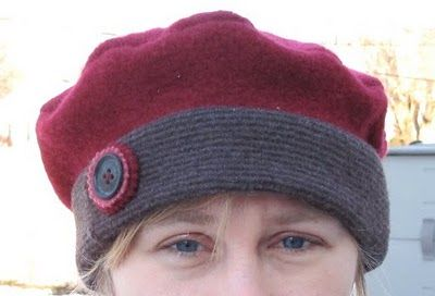 Tutorial Tuesday - recycled wool berets & hats