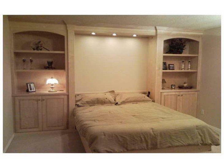 Двойной полный размер Вдохновение Мерфи кровати IKEA Идеи дизайна искусства Хьюстон Как построить шкафы Здание Дивана Космические Сохранение Висячие Скрыть Простые Спальня Стены Блоки Бункер Король С Сливочным Цвет