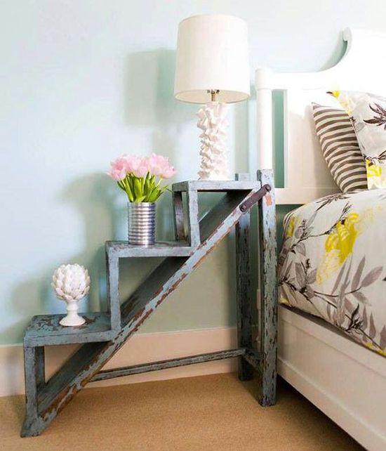 bedside table: 37 ideas Прикроватный столик: 37 крутых идей для вашей спальни - Ярмарка Мастеров - ручная работа, handmade