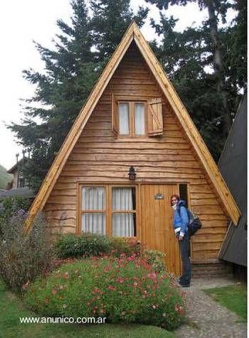 Las 25 mejores ideas sobre caba as peque as en pinterest y - Decoracion de casas prefabricadas pequenas ...