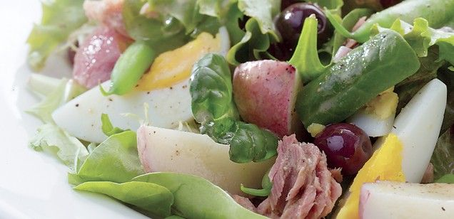 Recipe | DOLE Nouveau Nicoise | Dawn Jackson Blatner, Registered Dietitian