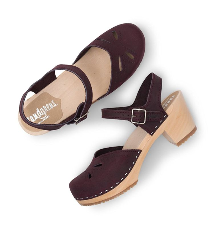 Swedish High Heel Wood Clog Sandals for Women | Copenhagen by Sandgrens >>> To view further for this article, visit the image link. #shoestrend