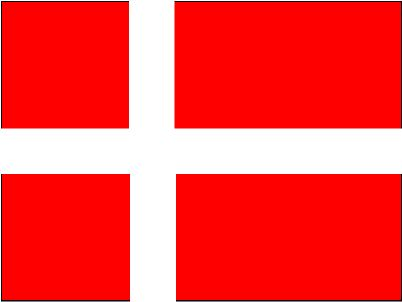 Danish Flag, oldest flag in the world.