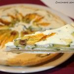 Che ne dite di questo squisito #tortino di #zucchine e fiori di #zucca ? Naturalmente #nichelfree