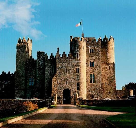 Kilkea Castle, Co. Kildare, Ireland -- slept here. This is where my brother & sister-in-law had their wedding reception