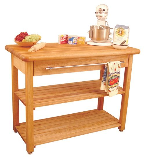 Matson Country Kitchen Island - Kitchen Islands and Carts at Hayneedle