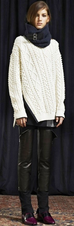 3.1 Phillip Lim Pre-Fall 2013.....No words.I Love this!