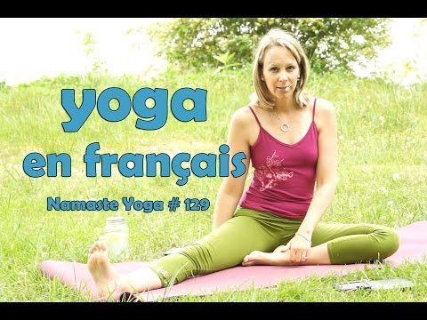 yoga , la routine de yoga pour les débutants , namaste yoga 129 - YouTube