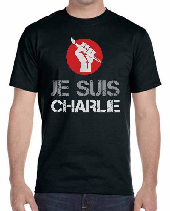 Je Suis Charlie Tshirt Unisex