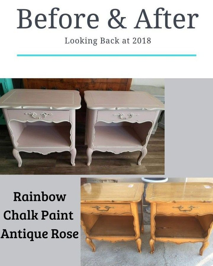 4thstreetdesignco Posted To Instagram Tried Rainbow Chalk Paint