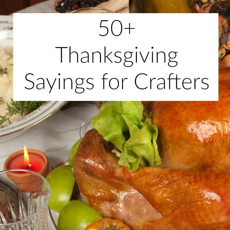 Need inspiration for your Silhouette or Cricut Thanksgiving crafting? This list of sayings is the place to start for shirts, wood signs, cards, and more.