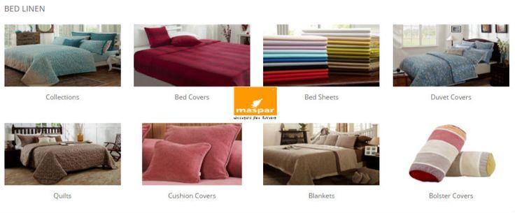 Bed linen online only on maspar.com