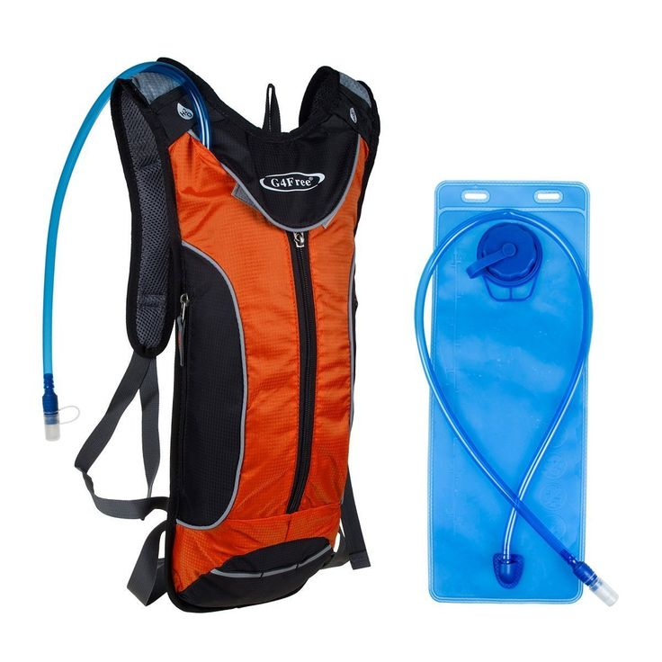 G4Free Sport Hydration Pack with 3L Water Bladder Suitable for Cycling Hiking Running Walking (C-Orange): Amazon.co.uk: Luggage