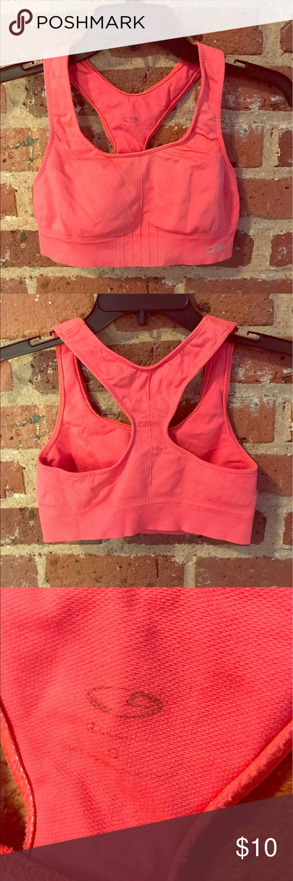 Neon Orange Sports Bra, Size Small Sports bra from Target in a bright orange color that makes everyone look tan! It is a size small and is made very soft material. Champion Intimates & Sleepwear Bras