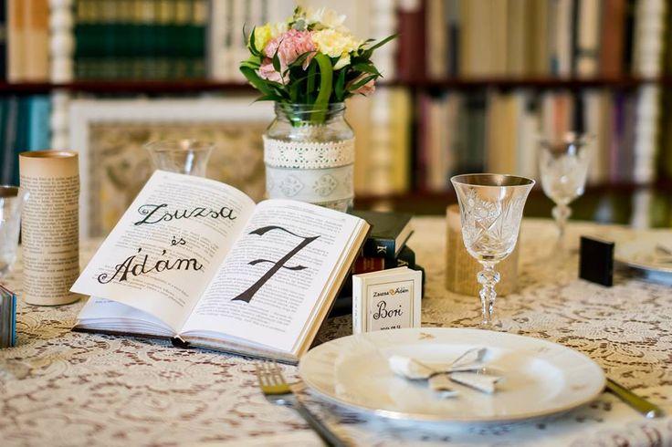 Egy irodalomkedvelő párnak álmodta meg a Wladek Creative csapata ezt az irodalom tematikájú esküvőt.