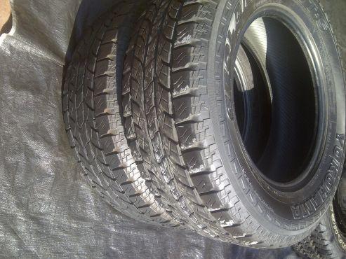2Xyokohama Geolander Ats 265/65/17,still Very Good!! | | Tyres and Wheels | 67357914 | Junk Mail Classifieds