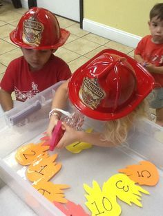 preschool firefighter activities - Recherche Google