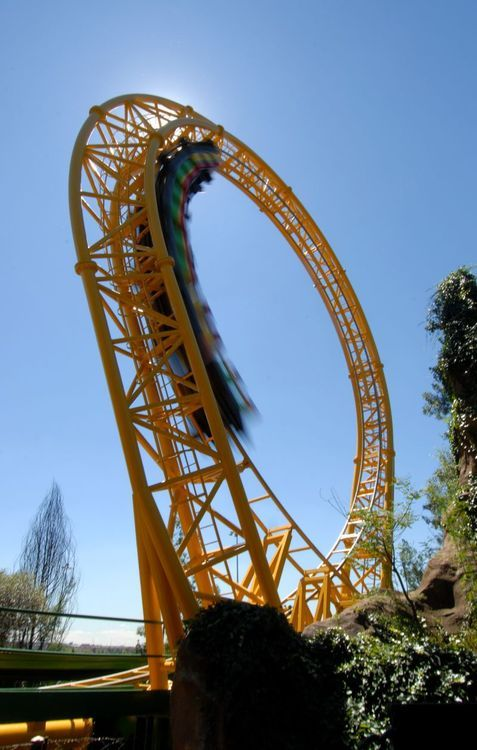 Golden Loop, Gold Reef City in South Africa