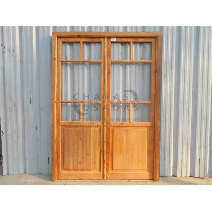 M s de 1000 ideas sobre antiguas puertas de madera en for Puertas balcon usadas