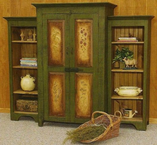Oh I love this color and the front of the cabinet! Gorgeous.: Cabinets, Decor Ideas, Wood Furniture, Antiques Furniture, Rustic Cottages, Primitive Furniture, Vintage Furniture, Furniture Vintage, Cottages Furniture
