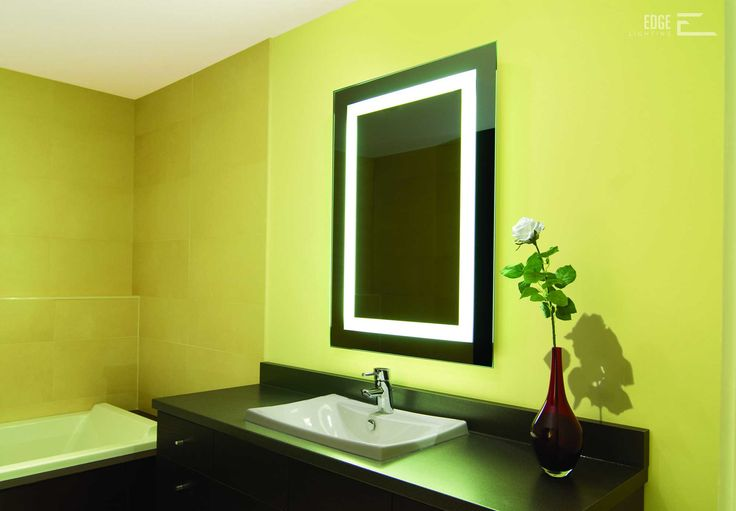 The 44 best EDGE LIGHTING: Bath and Vanity images on Pinterest ...