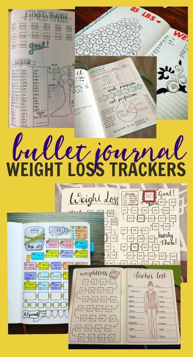tracking weight loss