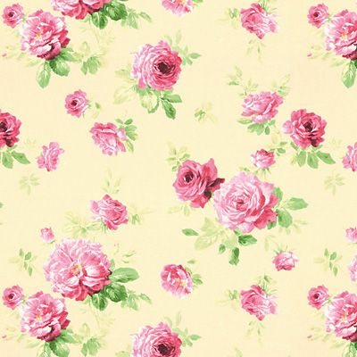 Spring Roses 3 - Dekostoffe Blumen - Dekostoffe gemustert