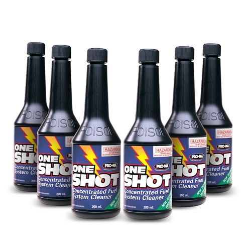 One Shot Concentrated Fuel Cleaning System (6 x 200ml)