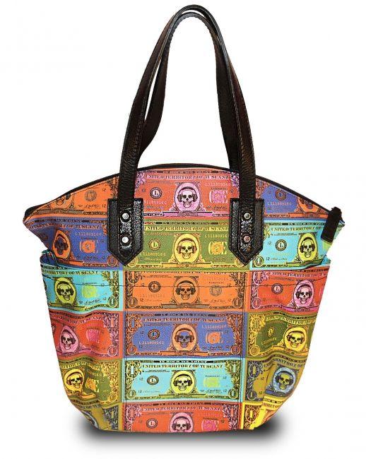 Fantastische design shopper. De designer tassen worden in Toscane gemaakt en zijn een combinatie van hoogstaande technologie en ouderwets vakmanschap. -