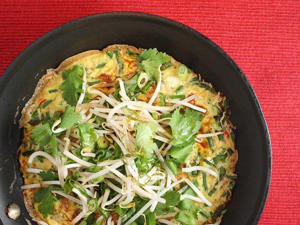 Crispy Rice OmeletteMeatless Mondays, Rice Omelet, Gluten Fre Rice, Crispy Rice, Vegetarian Dishes, Vegetarian Recipe, Gluten Free, Rice Recipe, Crisps Rice