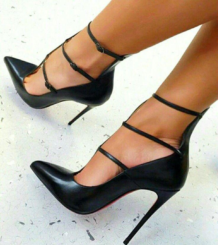 ★ BACK ★ VOLTAR EM ˚BLACK HEELS 👠👠 ★ ☀ ★ #Stilettoheels – # Genel   – High Heels