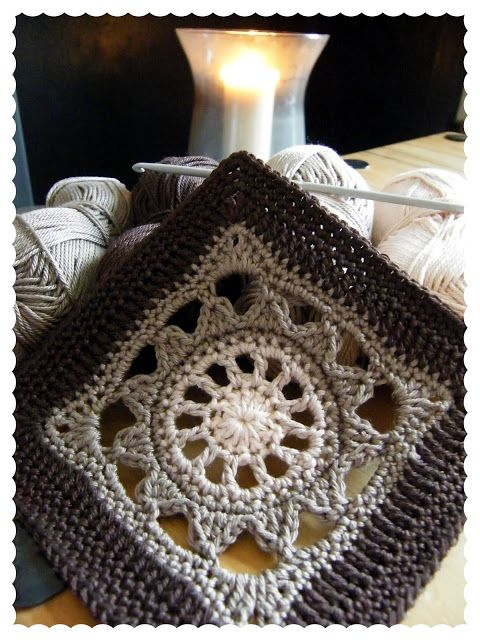 """Annie's Place: """"200 crochet blocks for blankets, throws & afghans'' by Jan Eaton: """"Edwardian Fancy"""""""