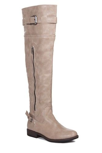 Just Fab Chessey Boot, $59, available at Just Fab.