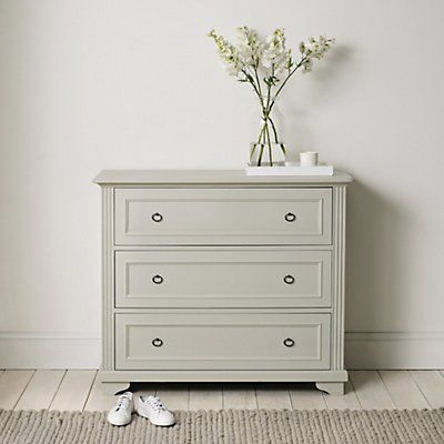 Provence 3 Drawer Chest Of Drawers | Bedroom Furniture | Furniture | Home | The White Company UK