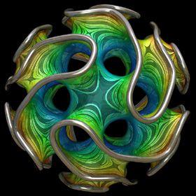 El Gyroid es un tipo de superficie tres veces periódica mínima que fue descubierta por Alan Schoen en 1970.